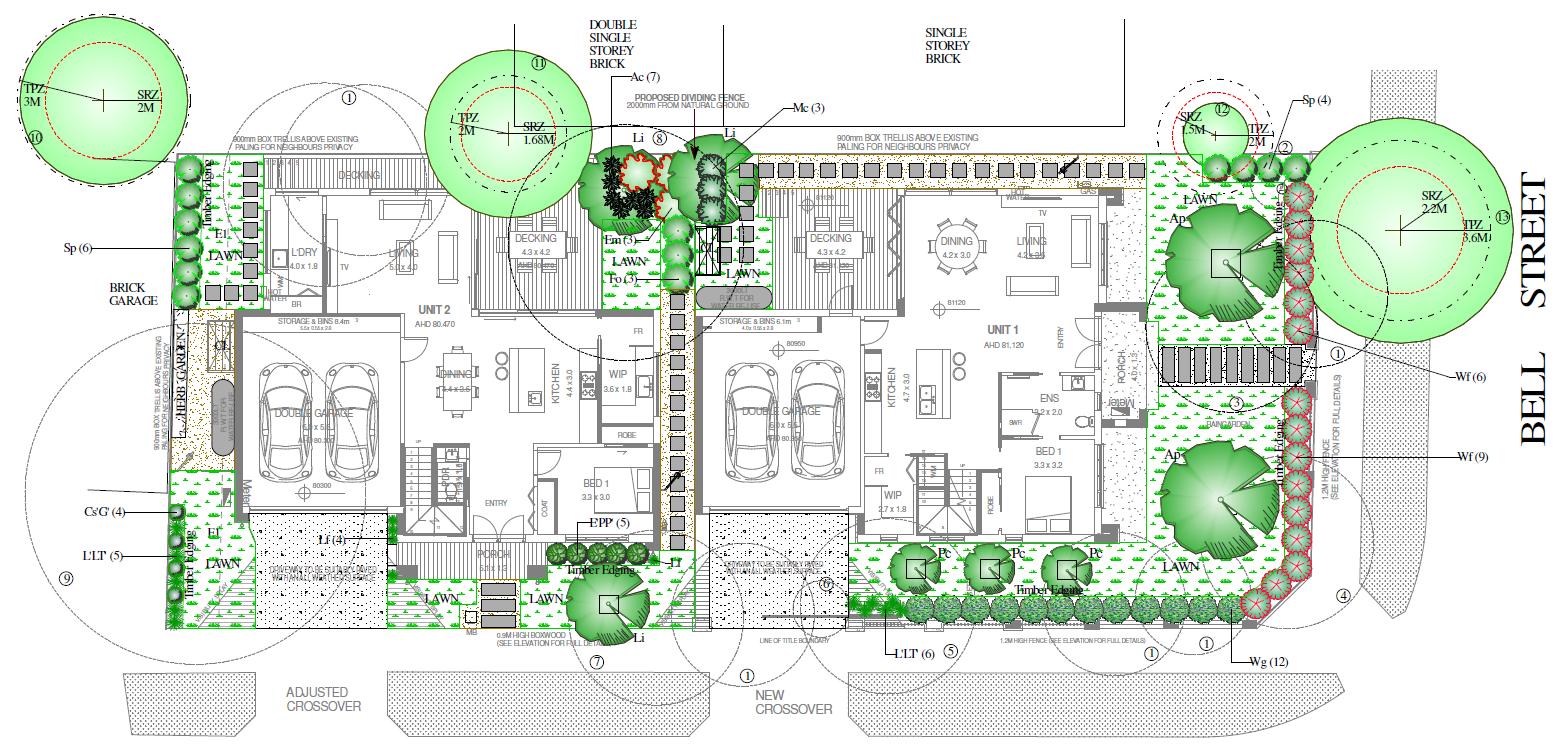 Landscape Plans Landscape Architecture